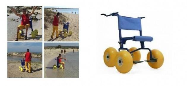 Deambulatore Spiaggia Job Walker